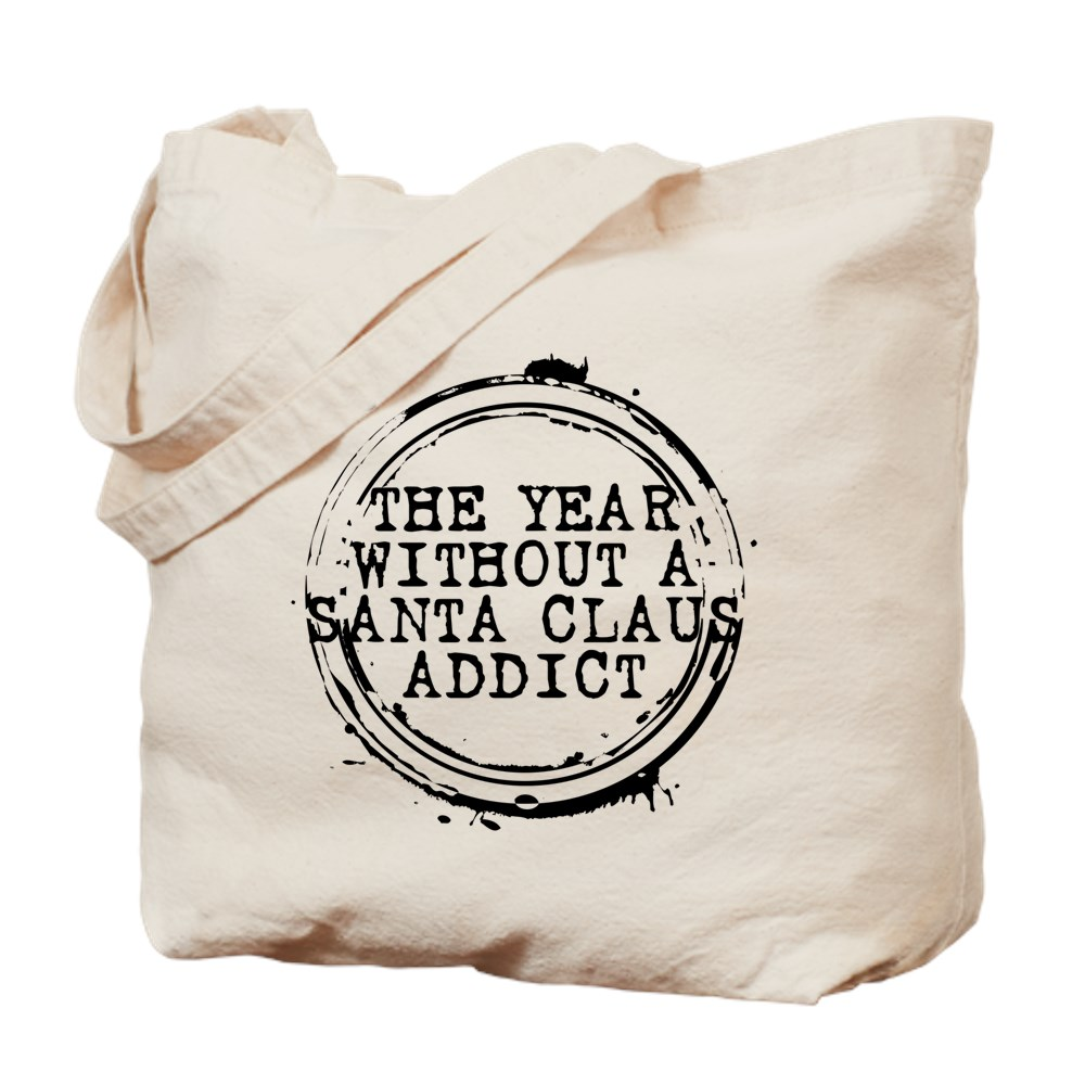 The Year Without a Santa Claus Addict Stamp Tote Bag