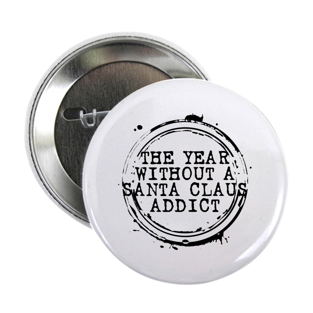 The Year Without a Santa Claus Addict Stamp 2.25