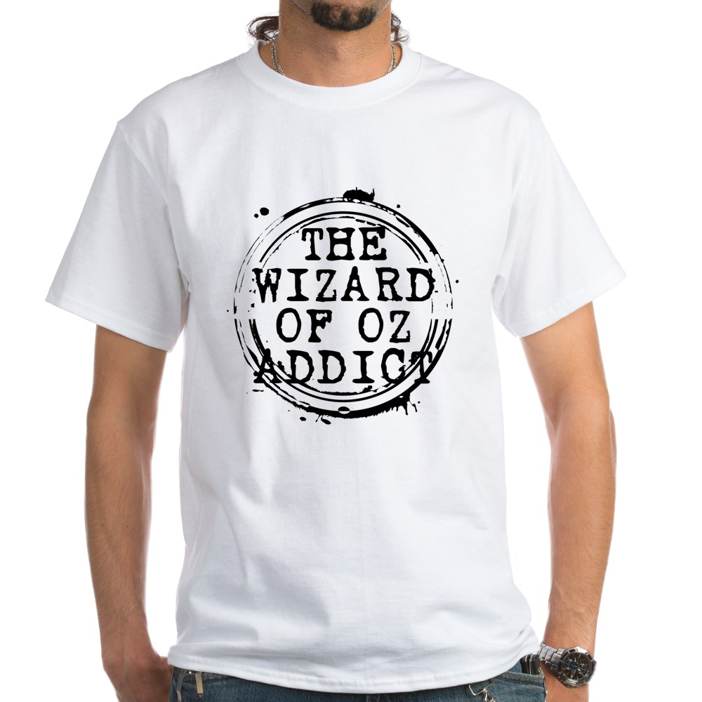 The Wizard of Oz Addict Stamp White T-Shirt