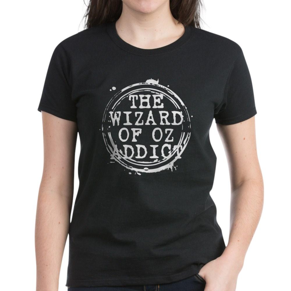 The Wizard of Oz Addict Stamp Women's Dark T-Shirt