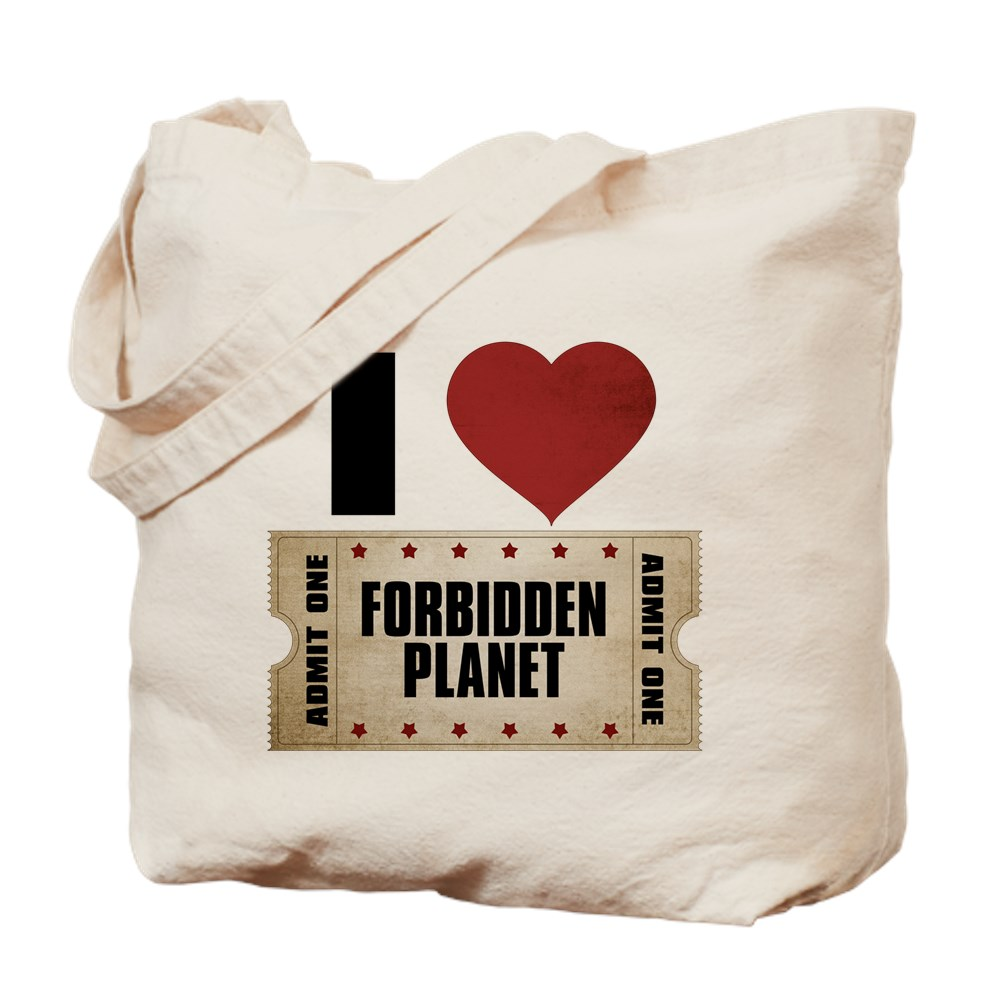 I Heart Forbidden Planet Ticket Tote Bag