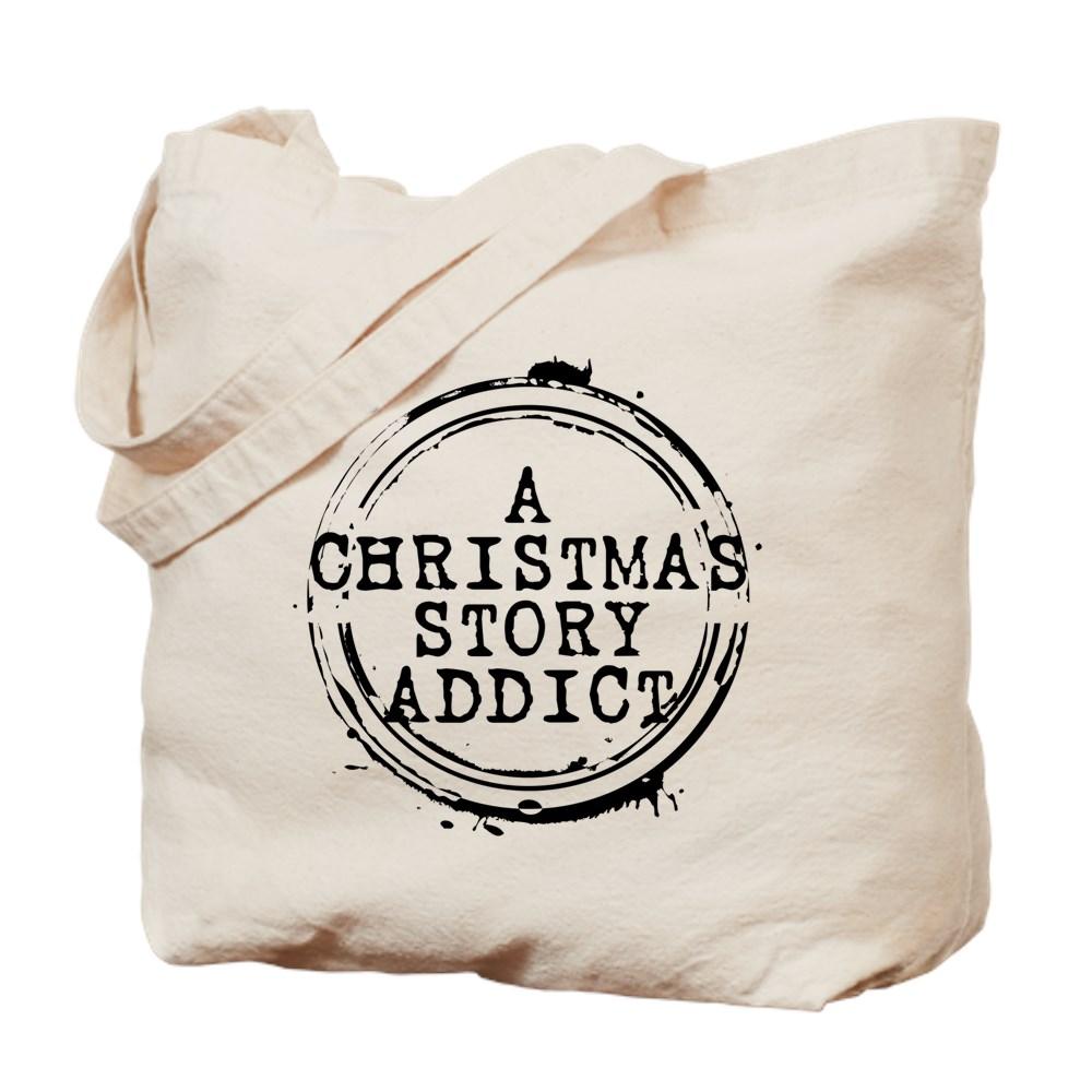 A Christmas Story Addict Stamp Tote Bag