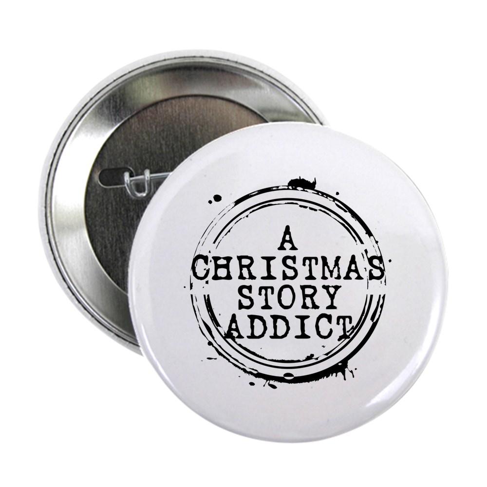 A Christmas Story Addict Stamp 2.25
