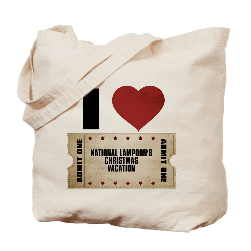 I Heart National Lampoon's Christmas Vacation Ticket Tote Bag