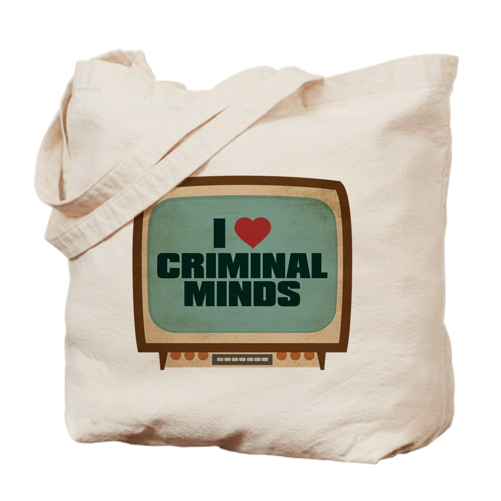 Retro I Heart Criminal Minds Tote Bag