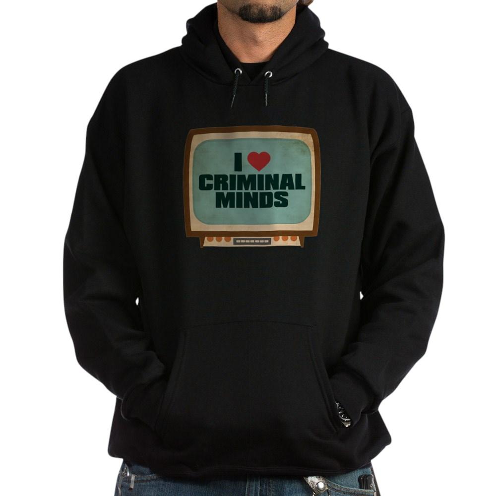 Retro I Heart Criminal Minds Dark Hoodie