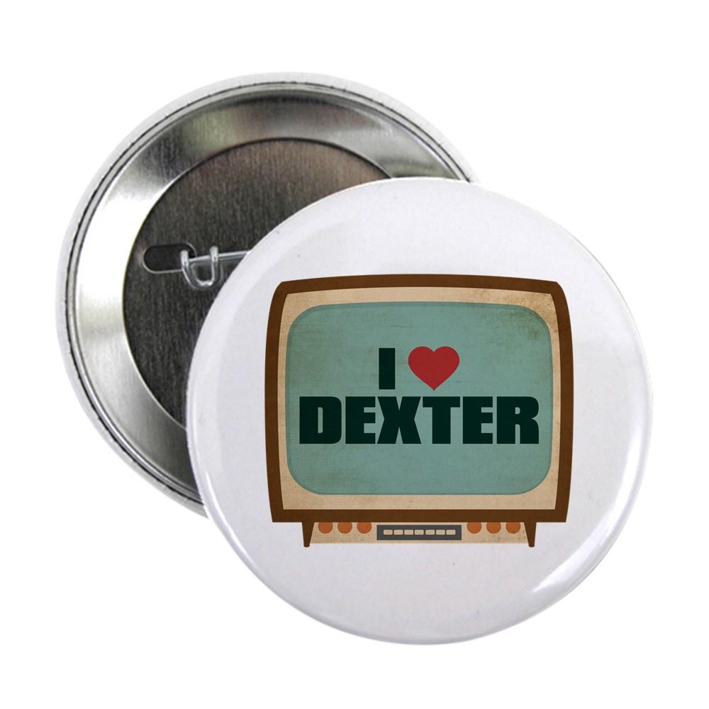 Retro I Heart Dexter 2.25