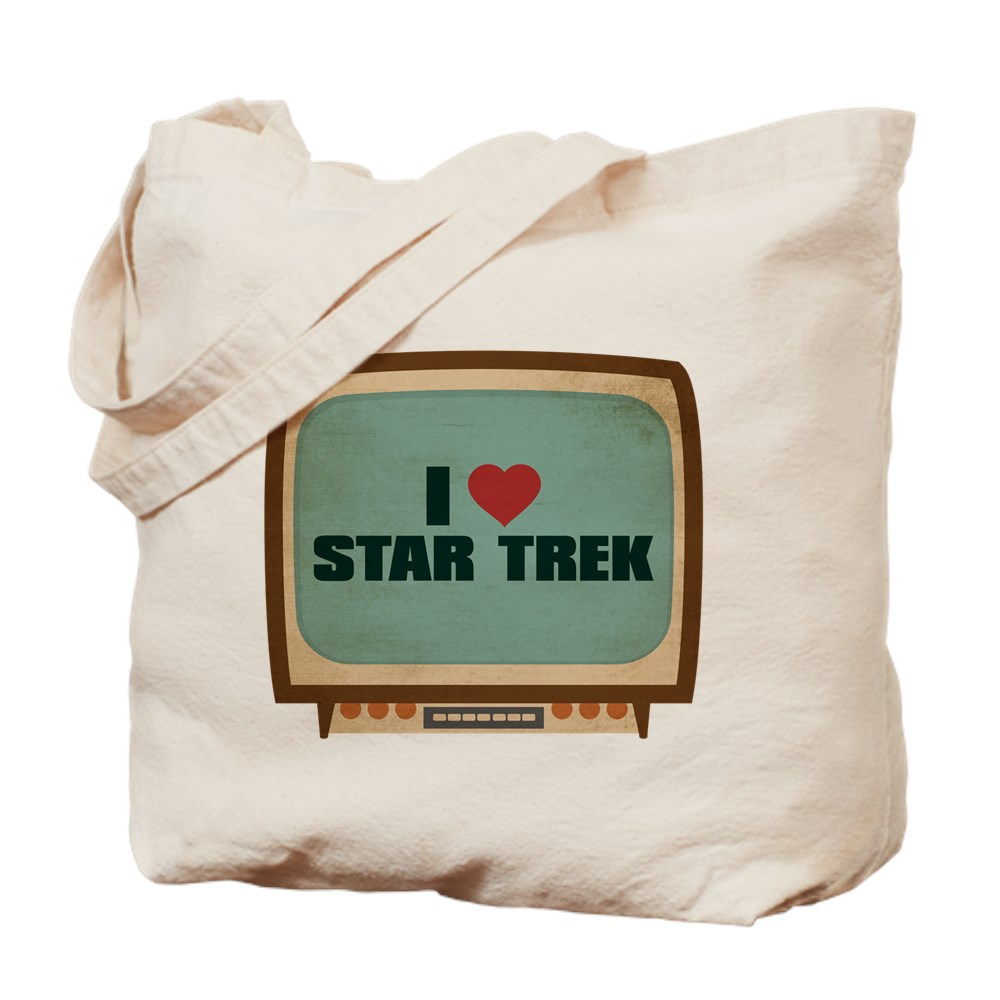Retro I Heart Star Trek Tote Bag