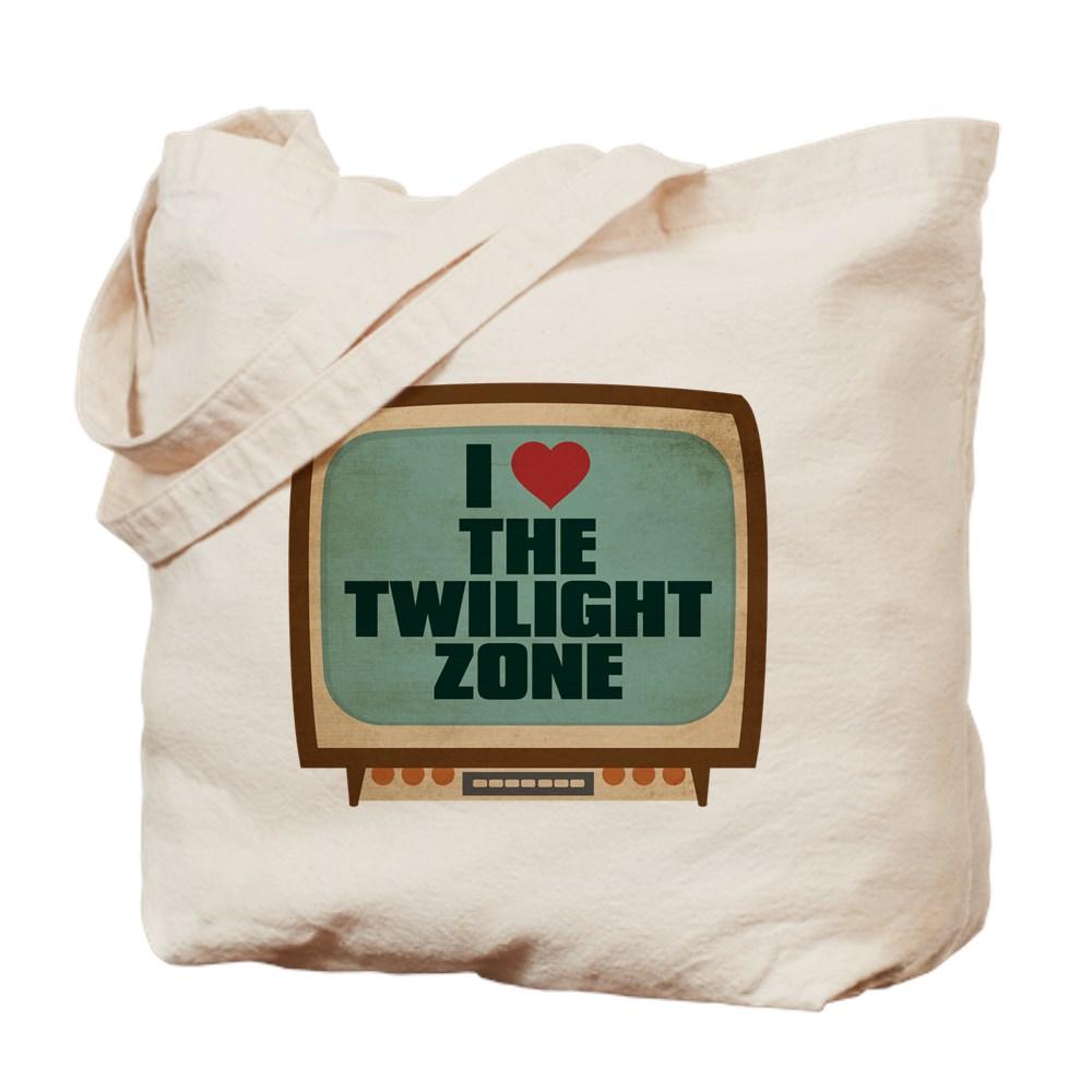 Retro I Heart The Twilight Zone Tote Bag