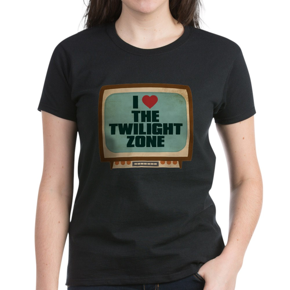 Retro I Heart The Twilight Zone Women's Dark T-Shirt