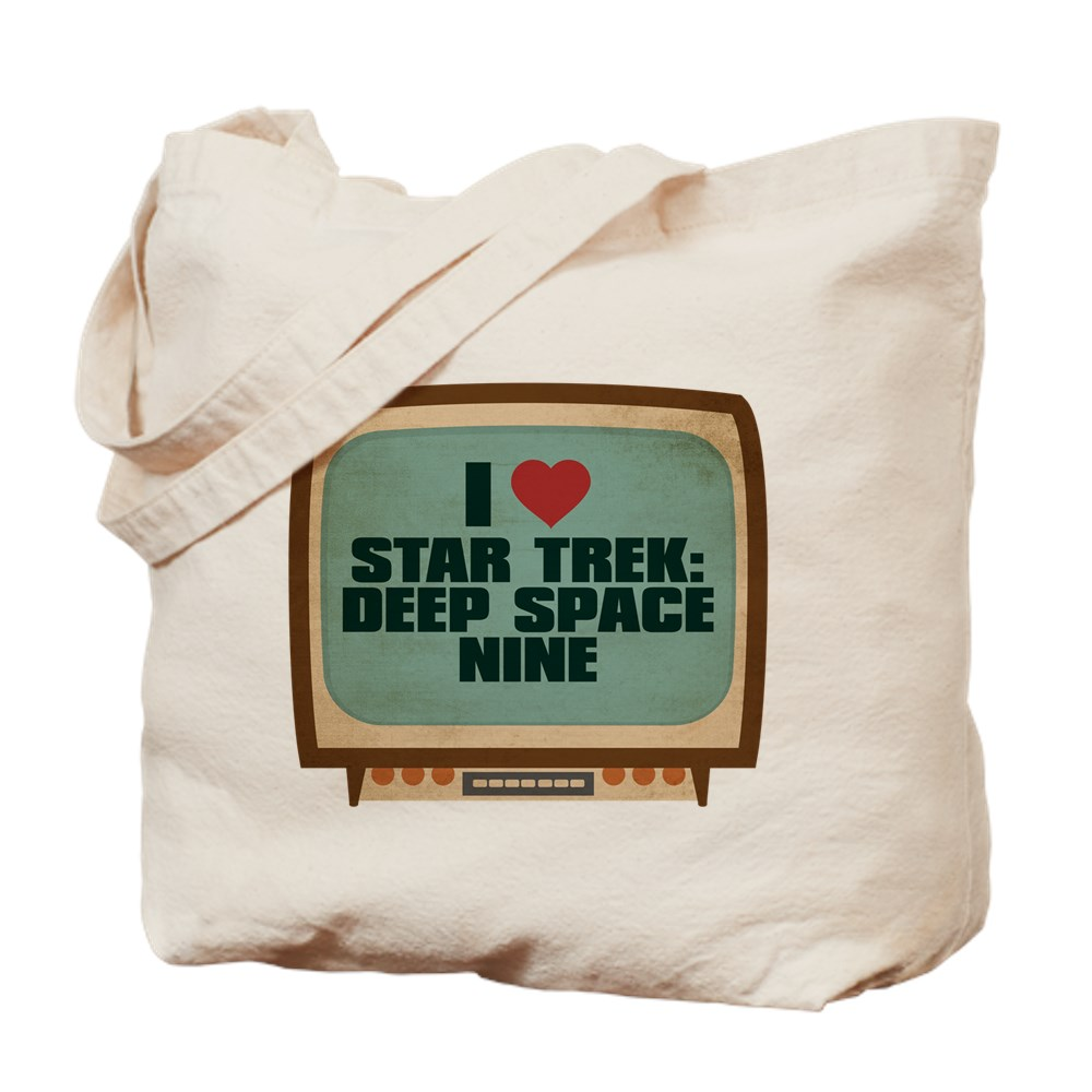 Retro I Heart Star Trek: Deep Space Nine Tote Bag
