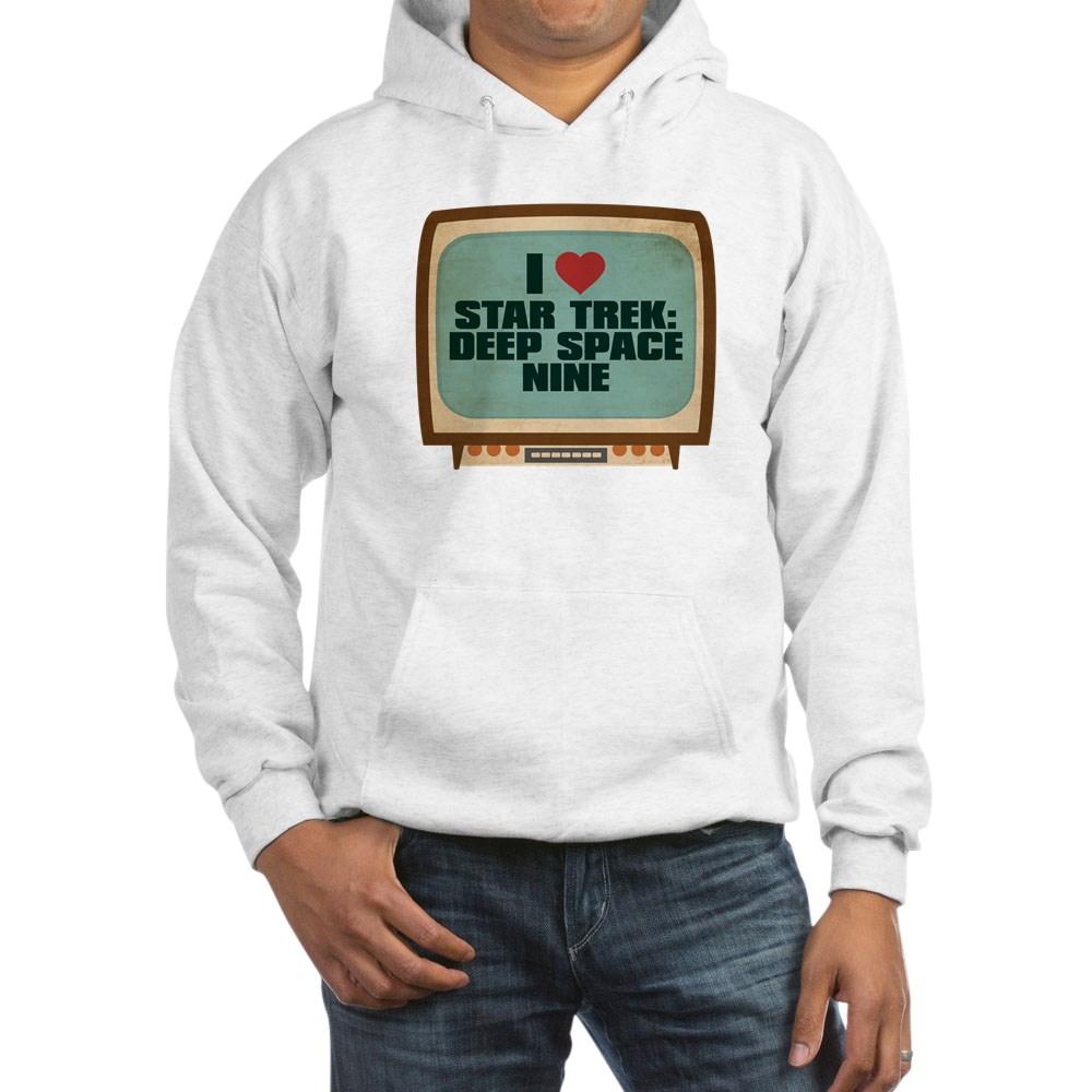 Retro I Heart Star Trek: Deep Space Nine Hooded Sweatshirt
