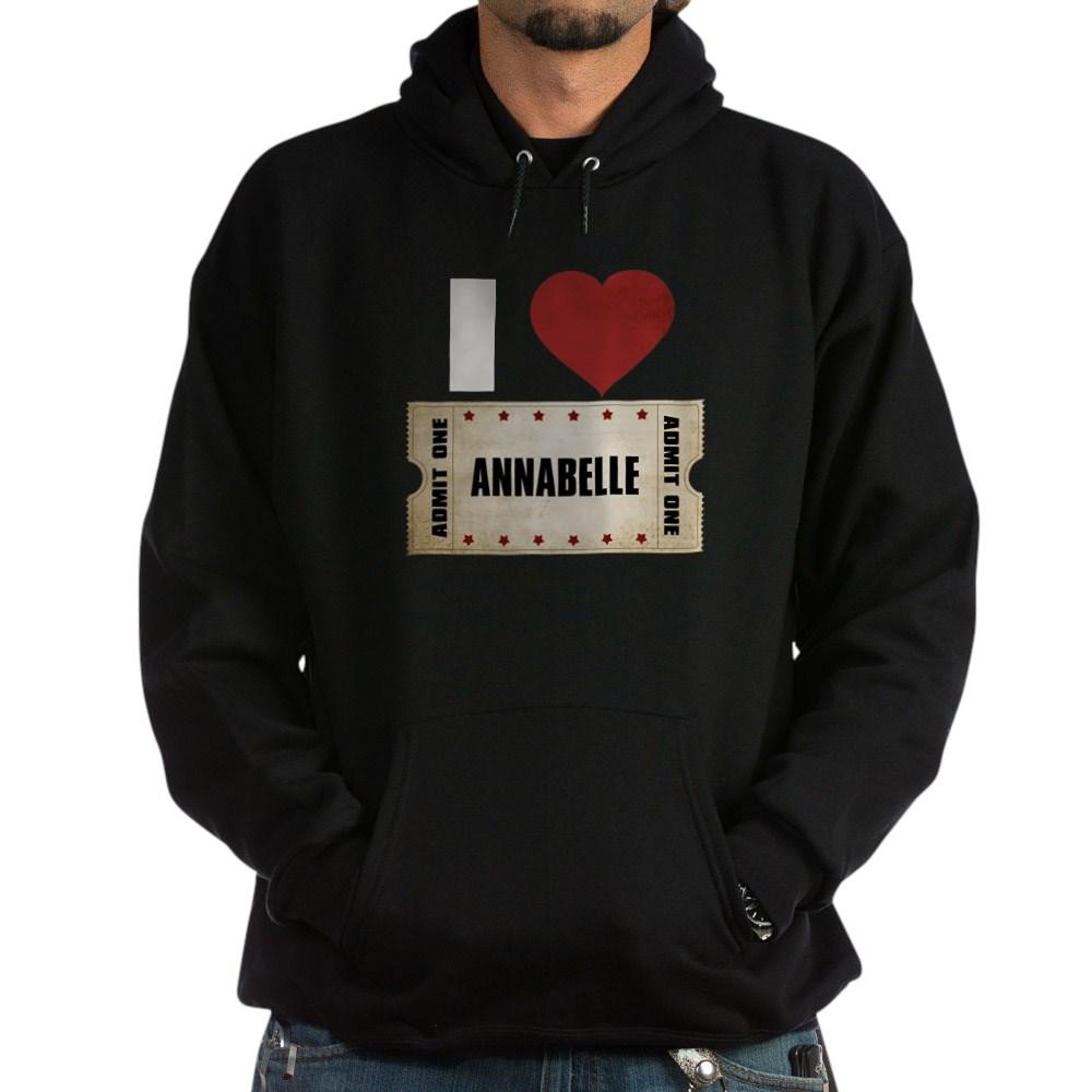 I Heart Annabelle Ticket Dark Hoodie