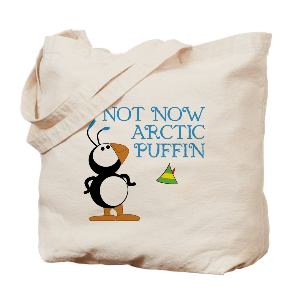 Not Now Arctic Puffin Tote Bag