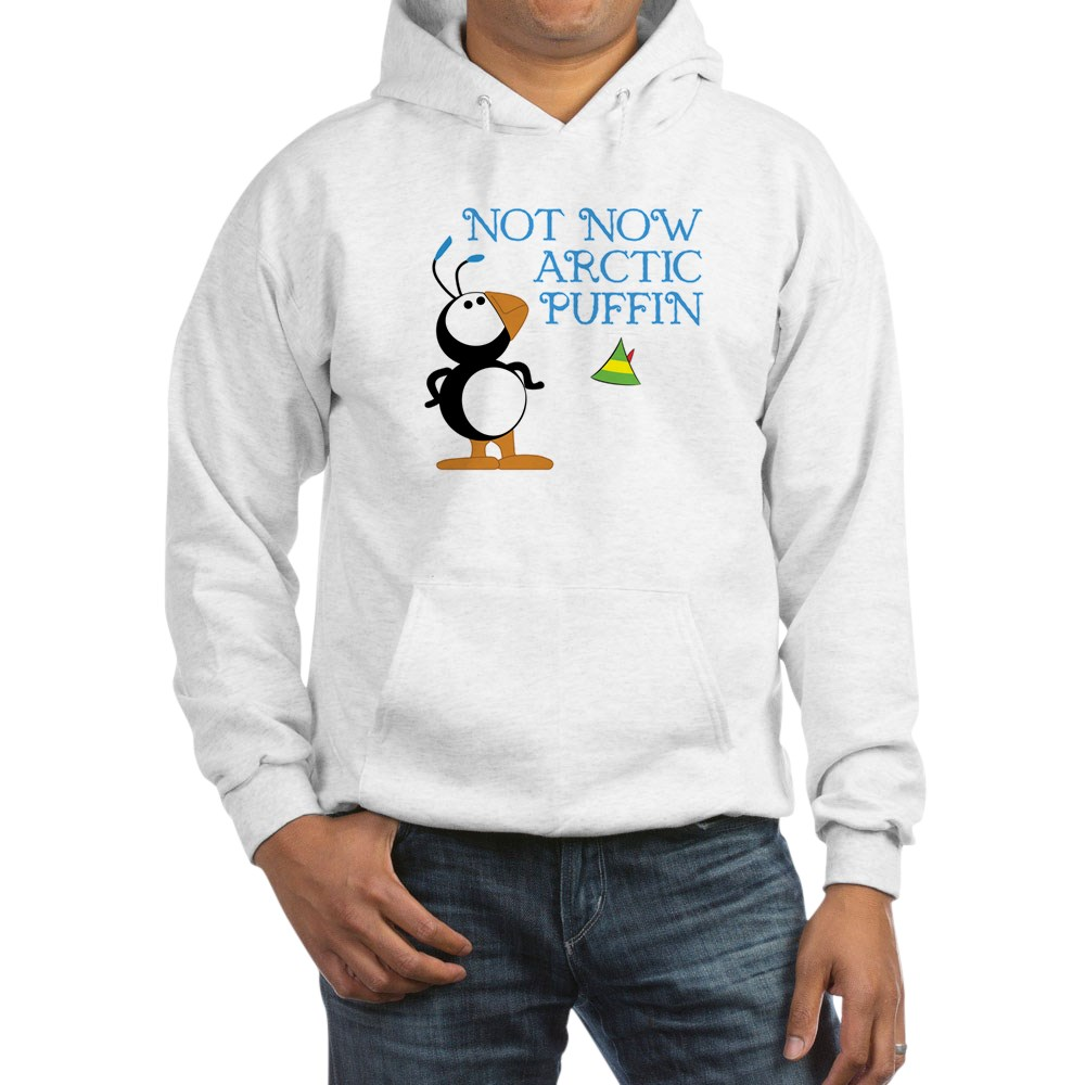 Not Now Arctic Puffin Hooded Sweatshirt