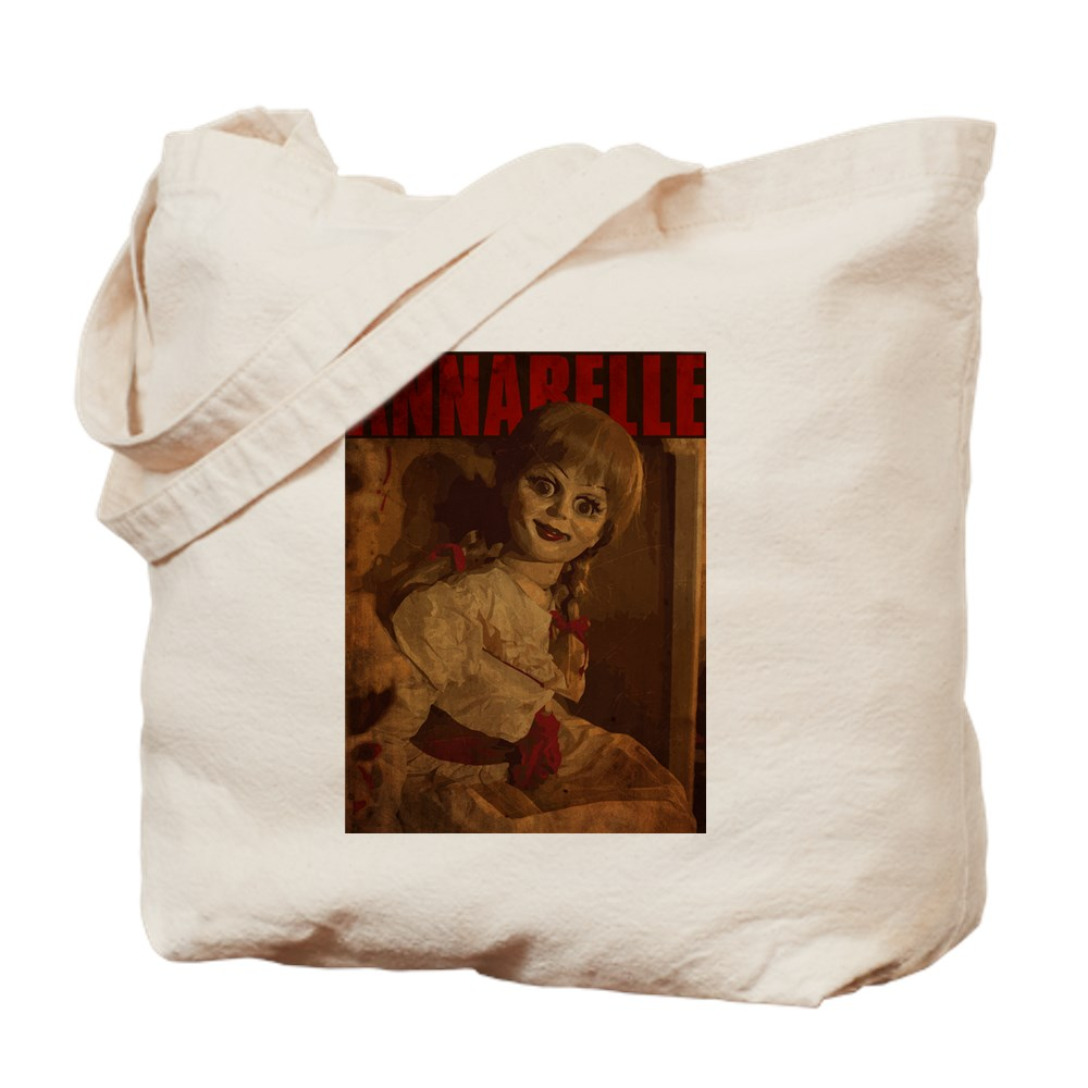 Vintage Style Annabelle Poster Tote Bag