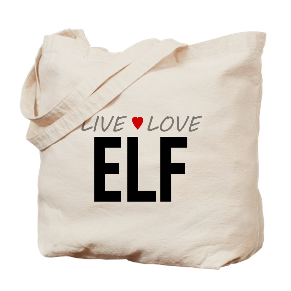 Live Love Elf Tote Bag