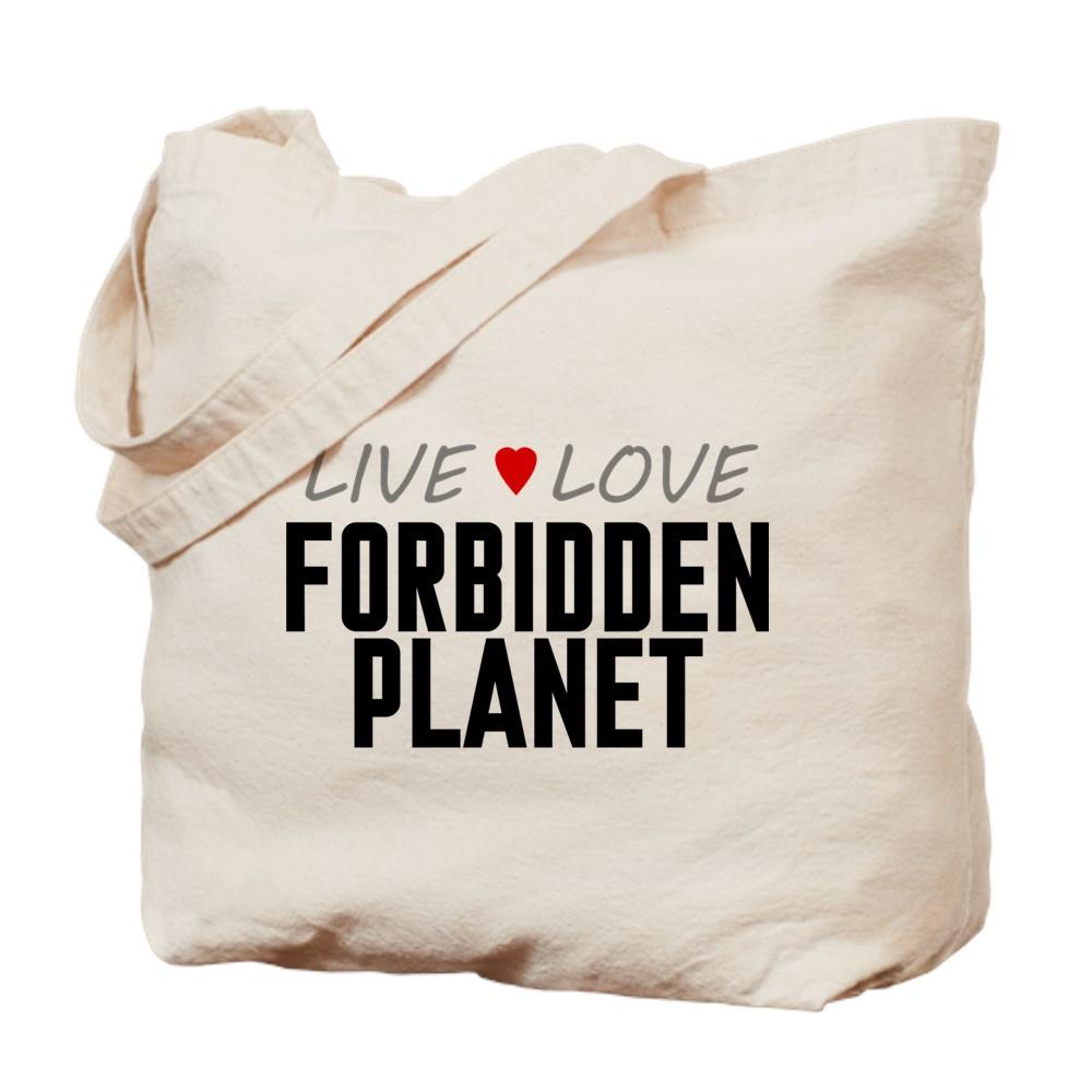 Live Love Forbidden Planet Tote Bag