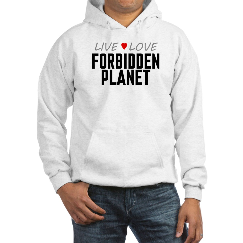 Live Love Forbidden Planet Hooded Sweatshirt