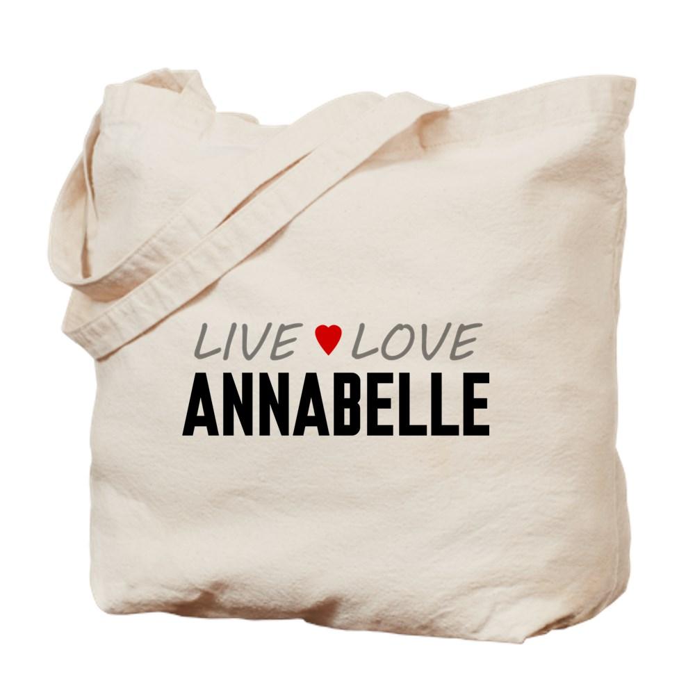 Live Love Annabelle Tote Bag