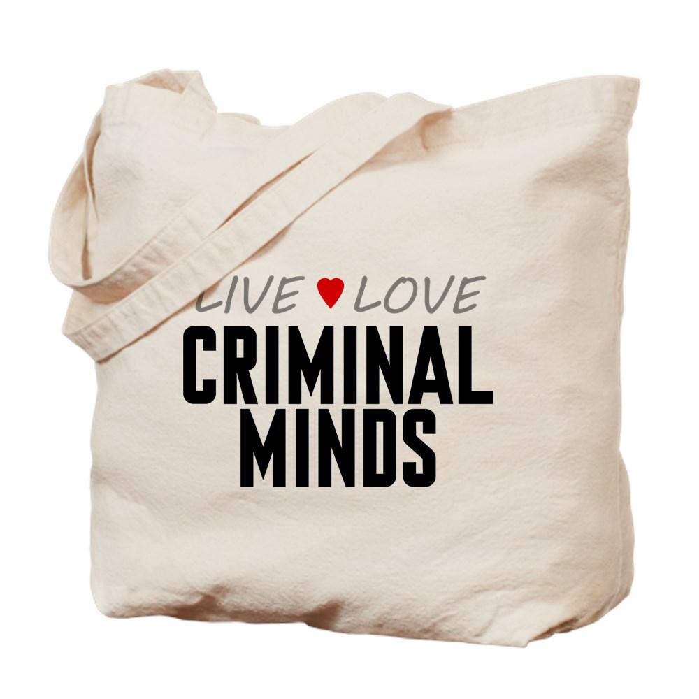Live Love Criminal Minds Tote Bag