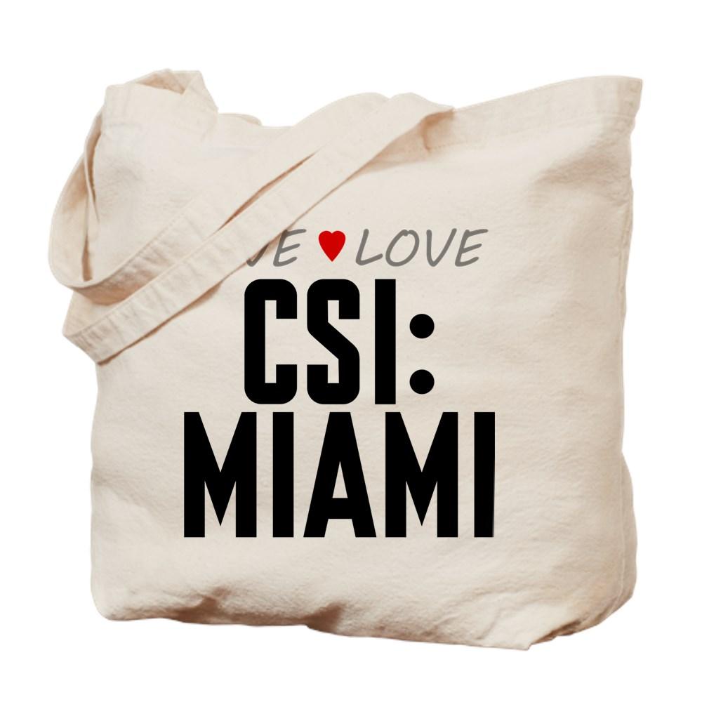 Live Love CSI: Miami Tote Bag