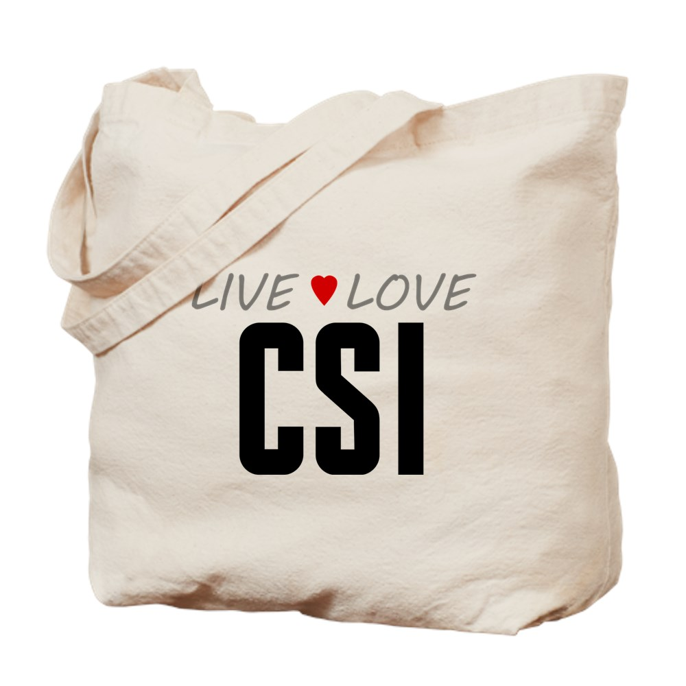 Live Love CSI Tote Bag