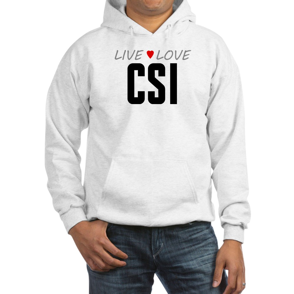 Live Love CSI Hooded Sweatshirt