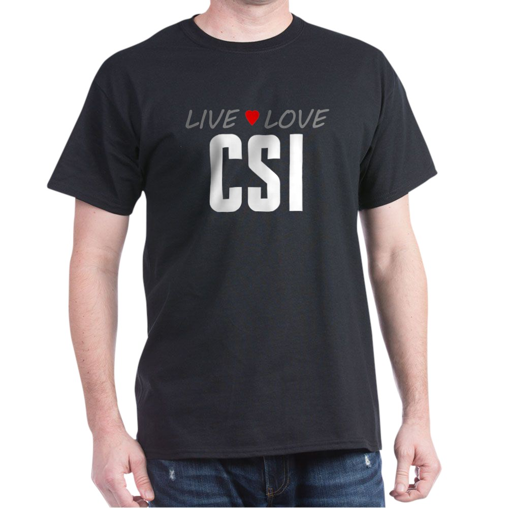 Live Love CSI Dark T-Shirt