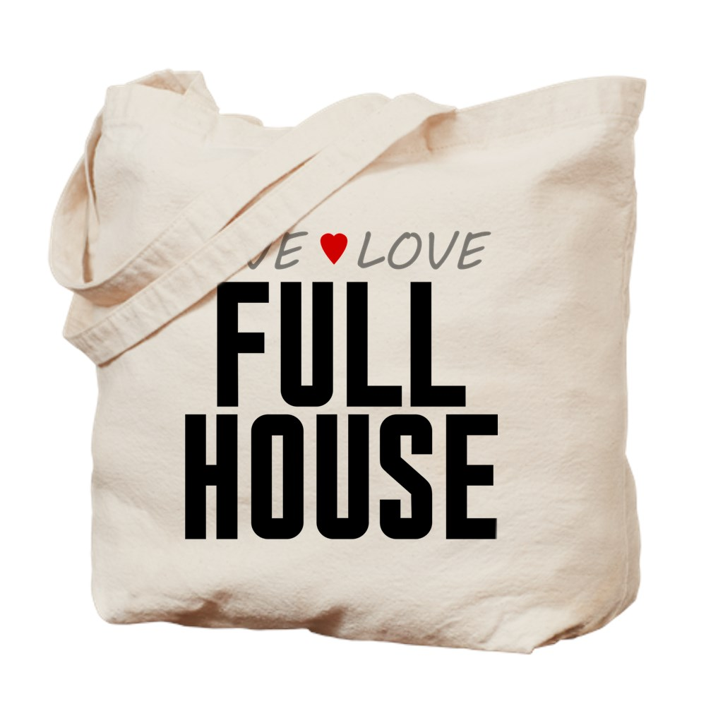 Live Love Full House Tote Bag