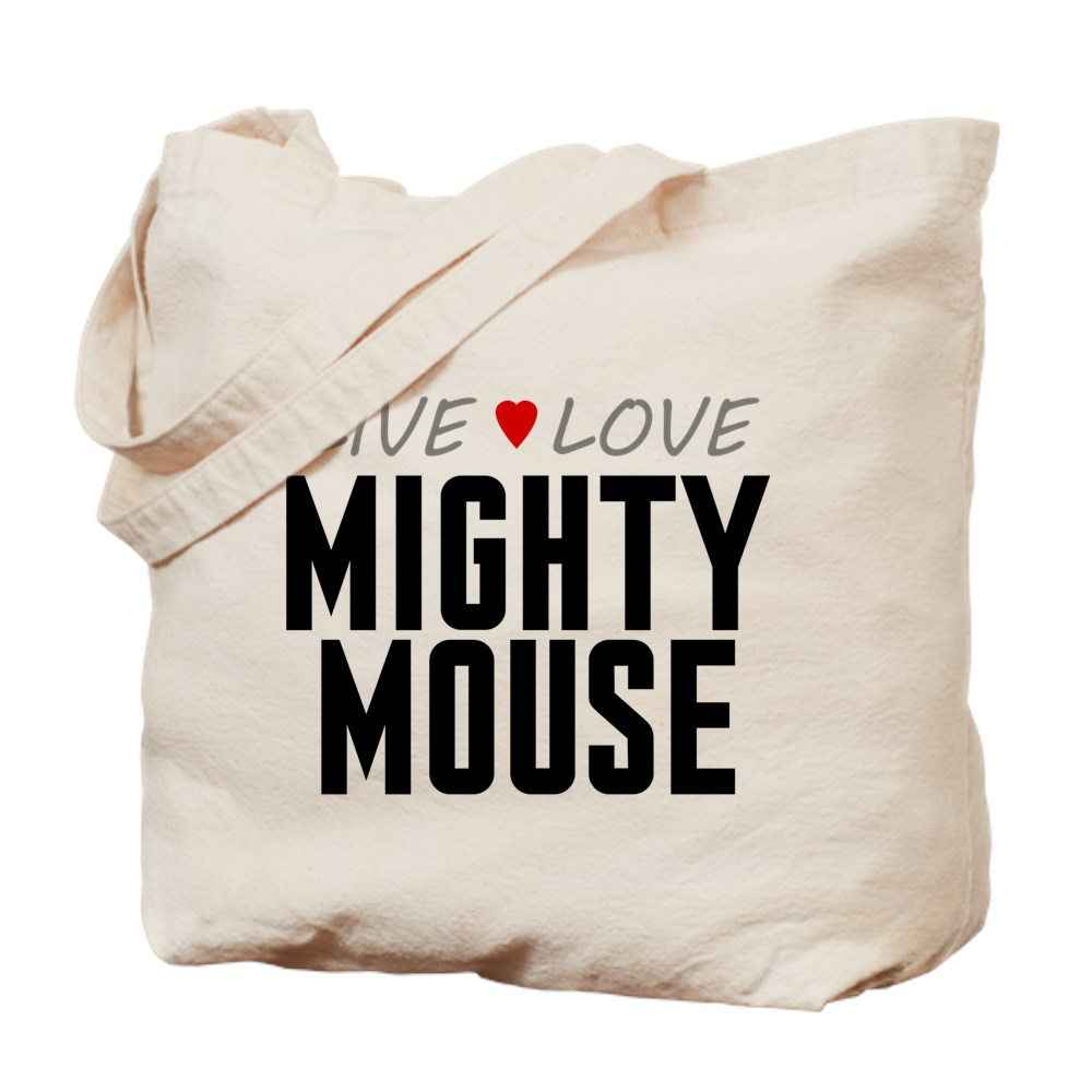 Live Love Mighty Mouse Tote Bag