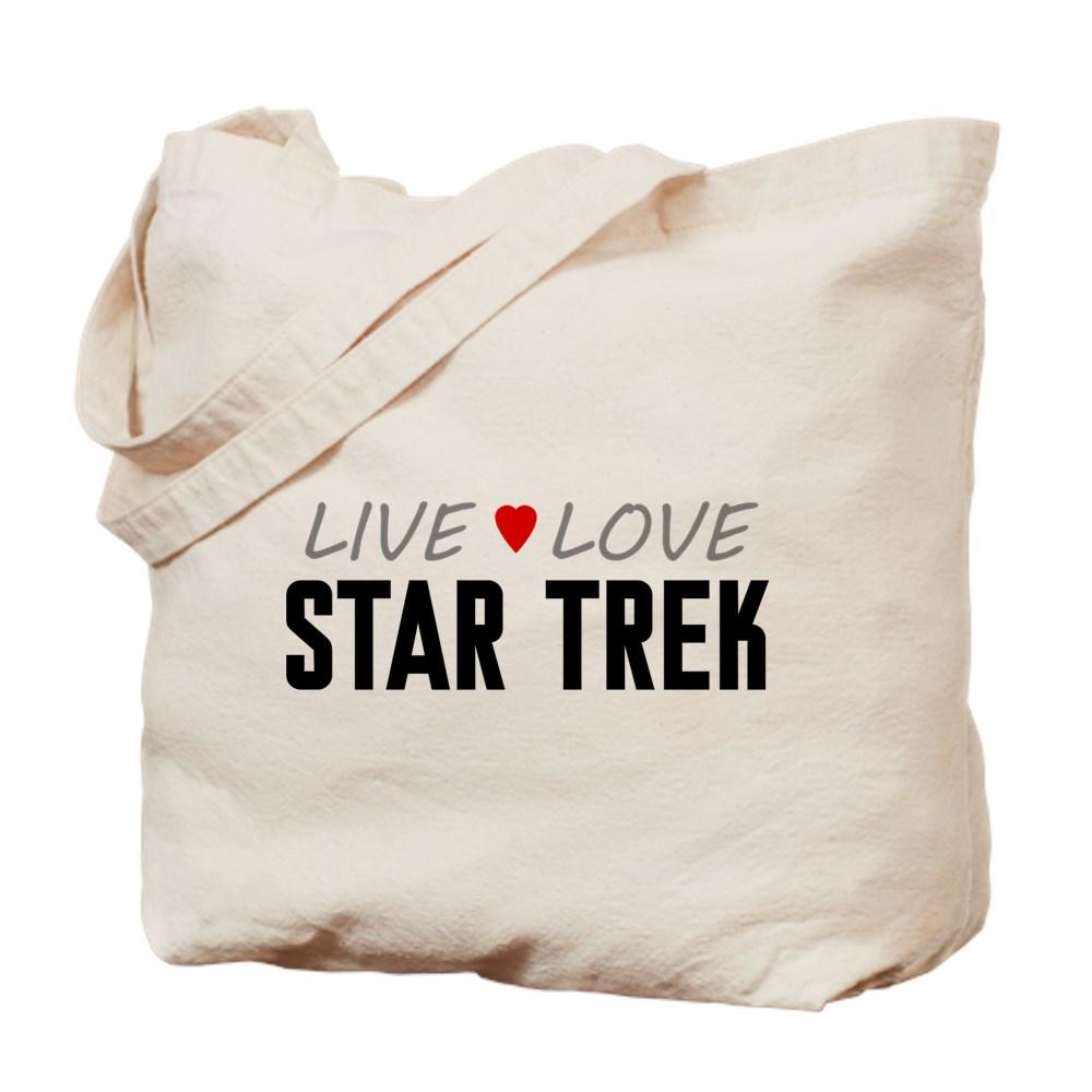 Live Love Star Trek Tote Bag