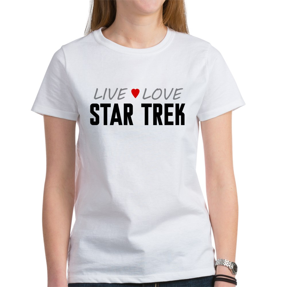 Live Love Star Trek Women's T-Shirt