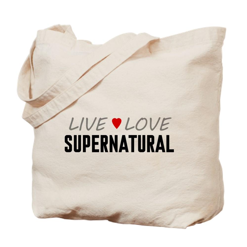 Live Love Supernatural Tote Bag