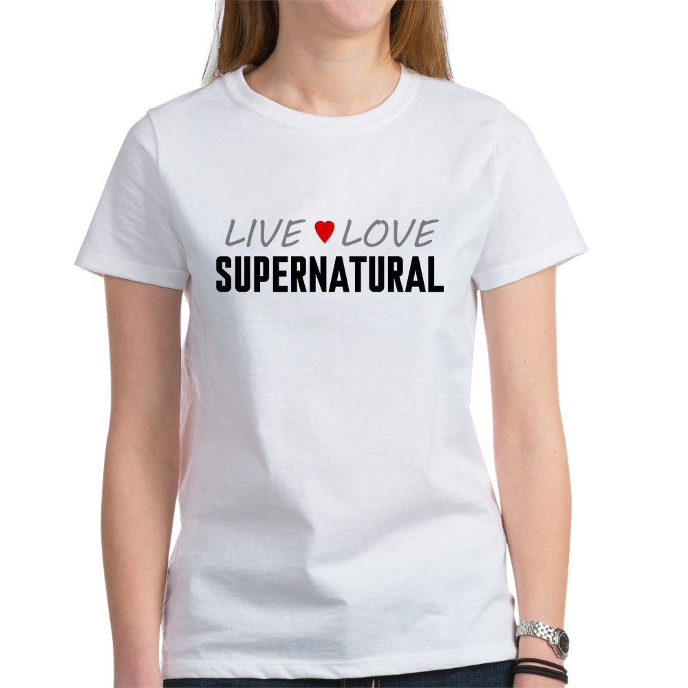 Live Love Supernatural Women's T-Shirt