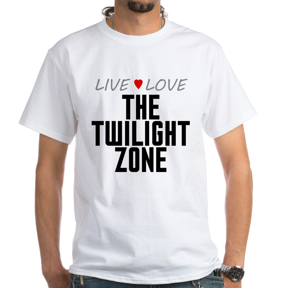 Live Love The Twilight Zone White T-Shirt