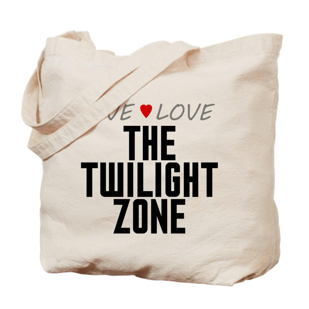 Live Love The Twilight Zone Tote Bag