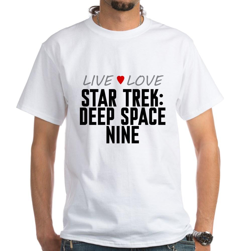 Live Love Star Trek: Deep Space Nine White T-Shirt