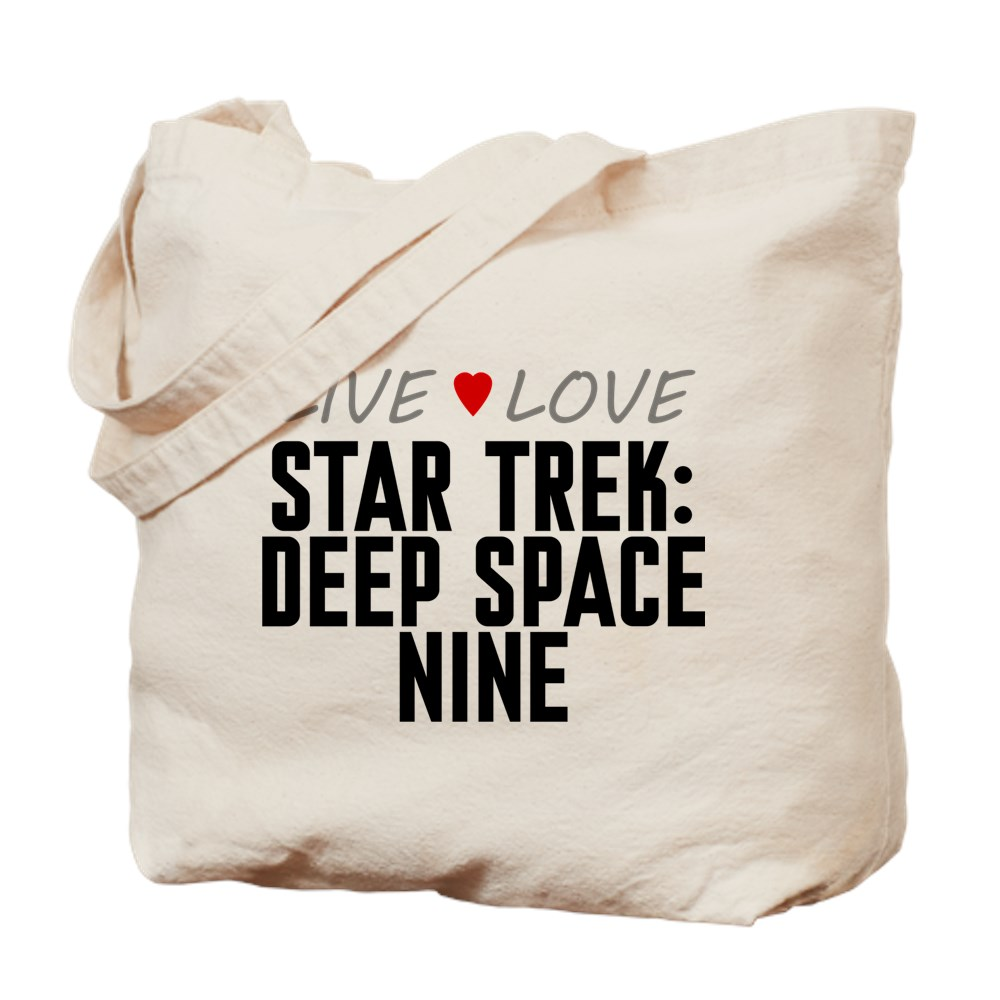 Live Love Star Trek: Deep Space Nine Tote Bag