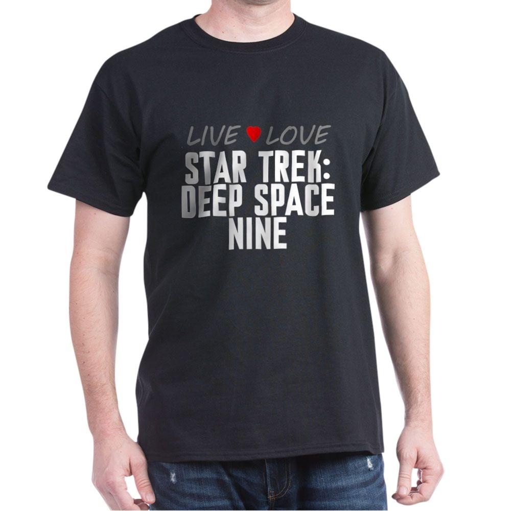 Live Love Star Trek: Deep Space Nine Dark T-Shirt