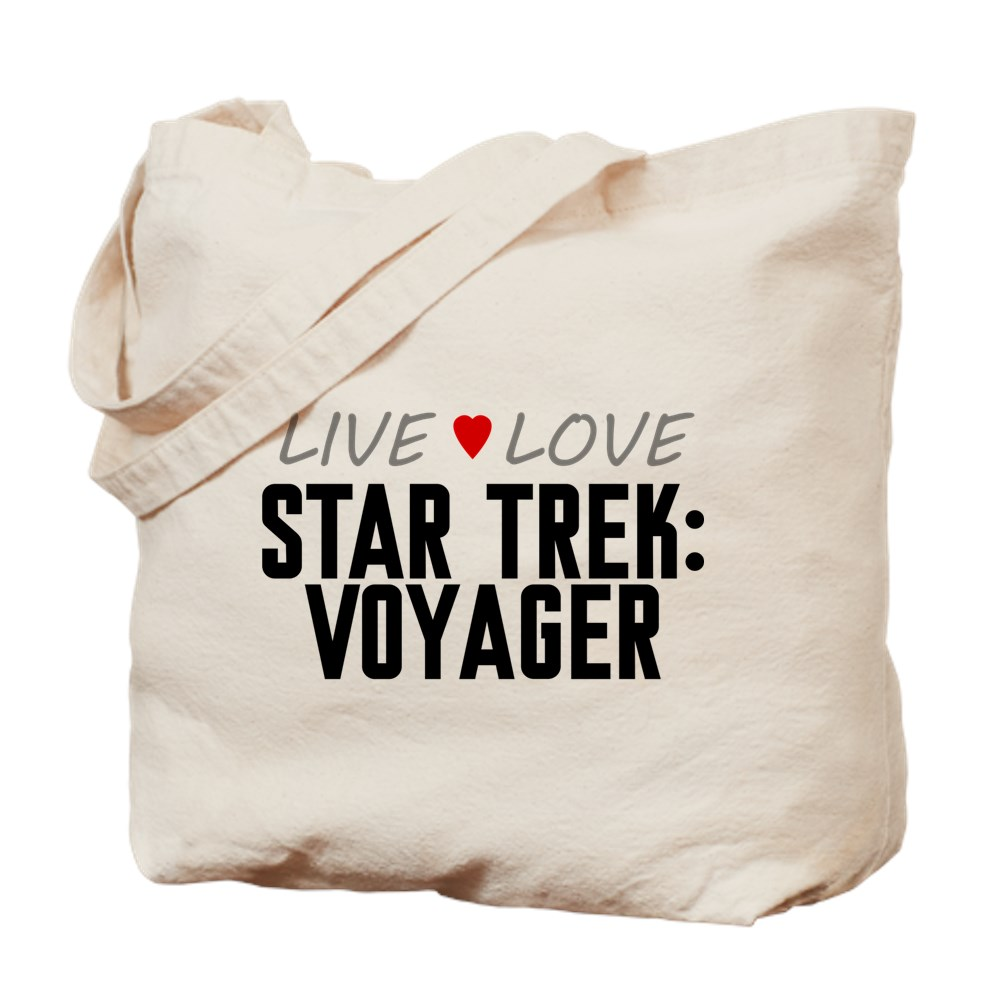 Live Love Star Trek: Voyager Tote Bag
