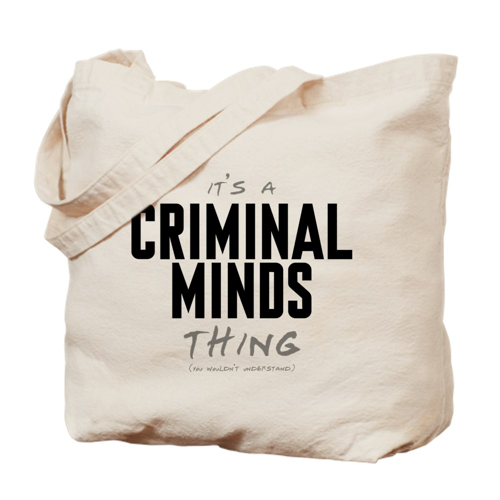 It's a Criminal Minds Thing Tote Bag