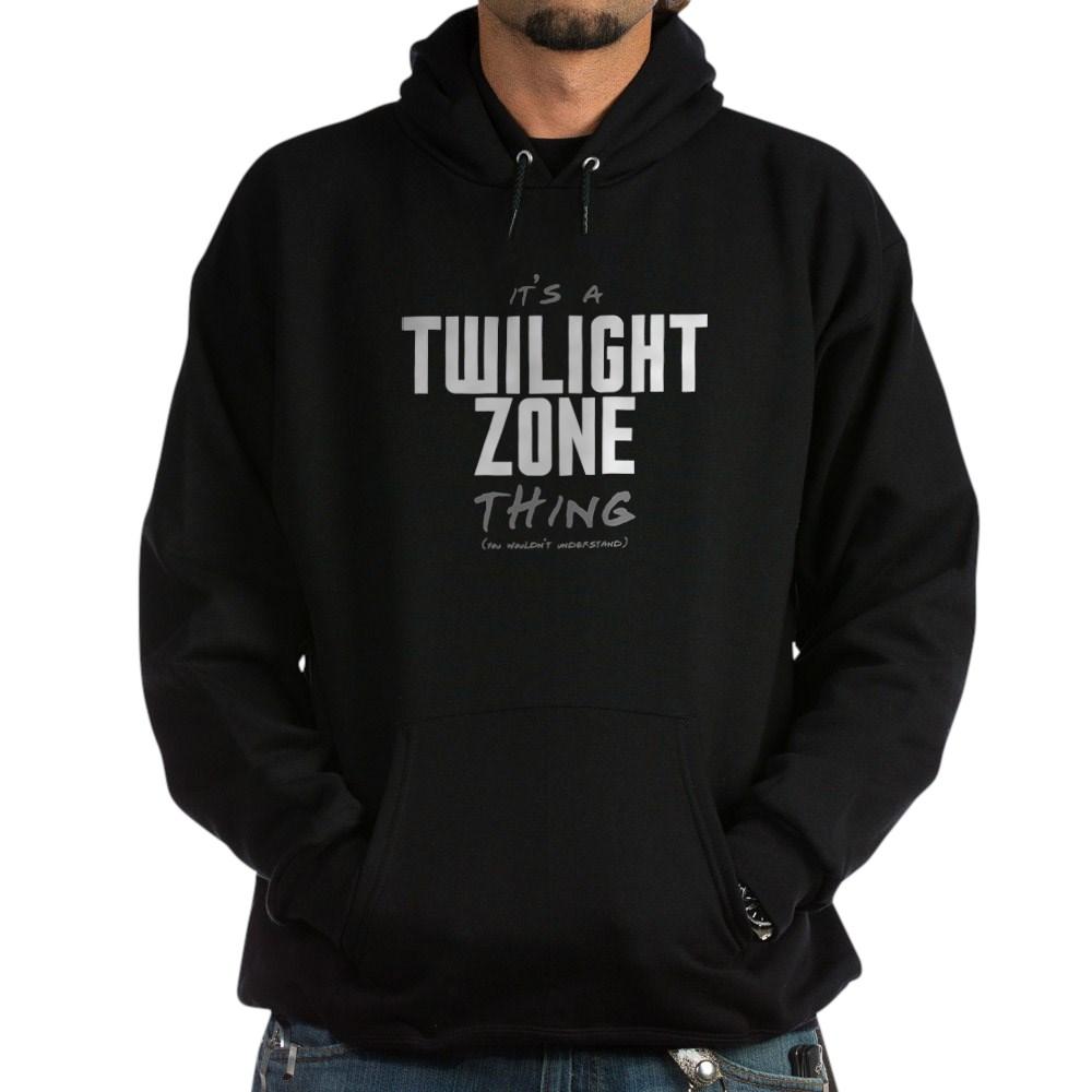 It's a Twilight Zone Thing Dark Hoodie