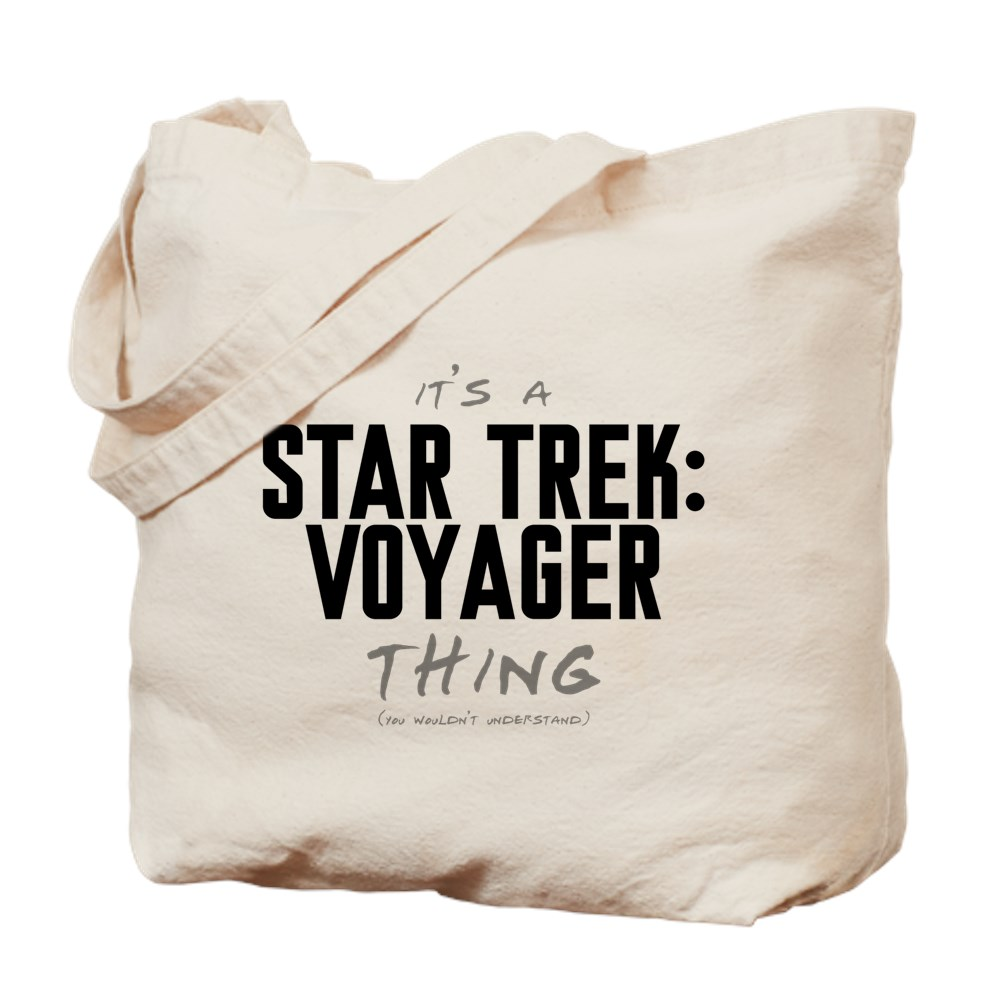 It's a Star Trek: Voyager Thing Tote Bag