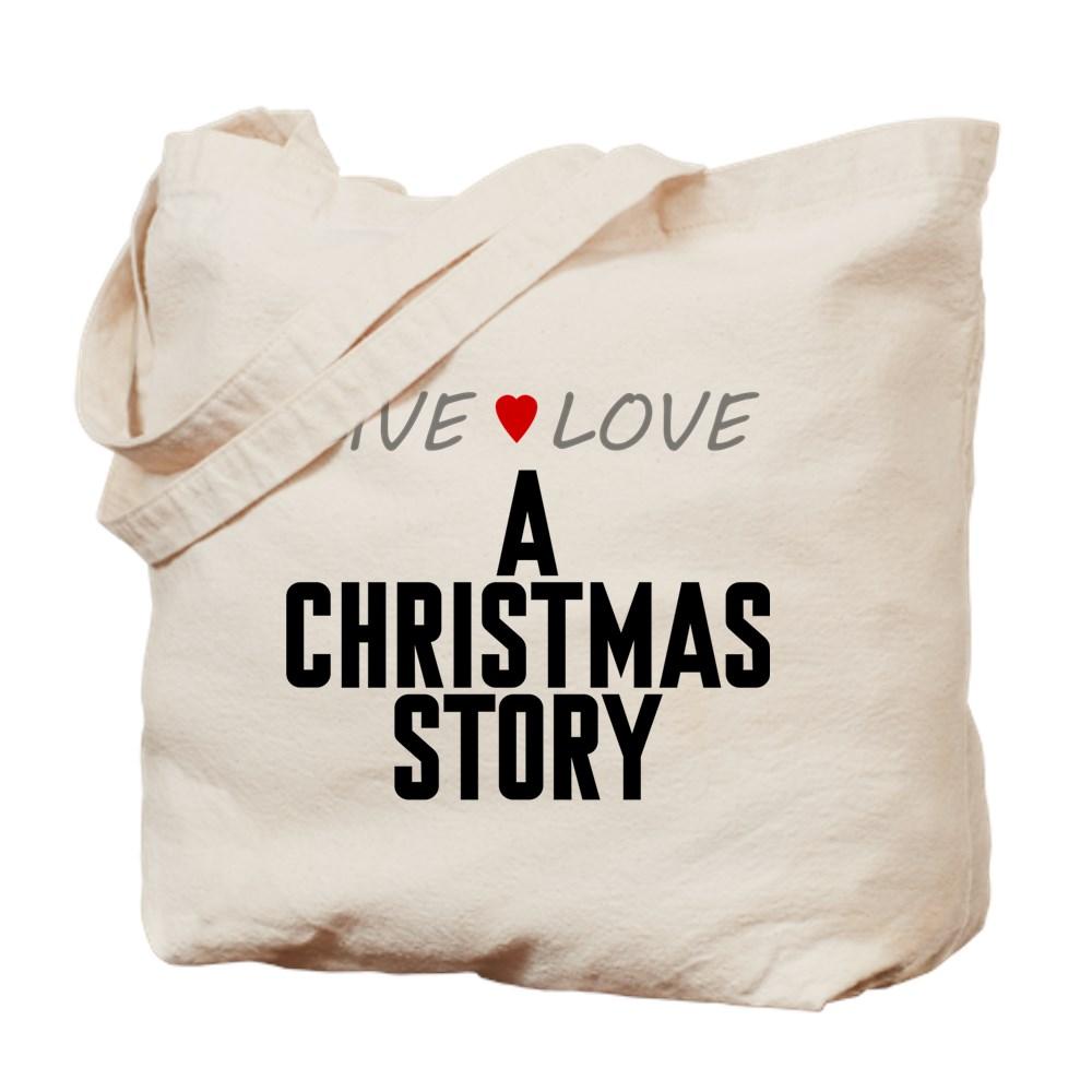 Live Love A Christmas Story Tote Bag
