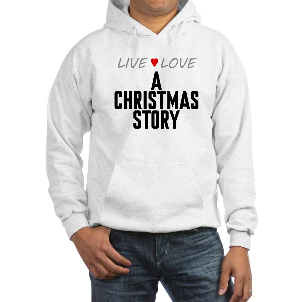 Live Love A Christmas Story Hooded Sweatshirt