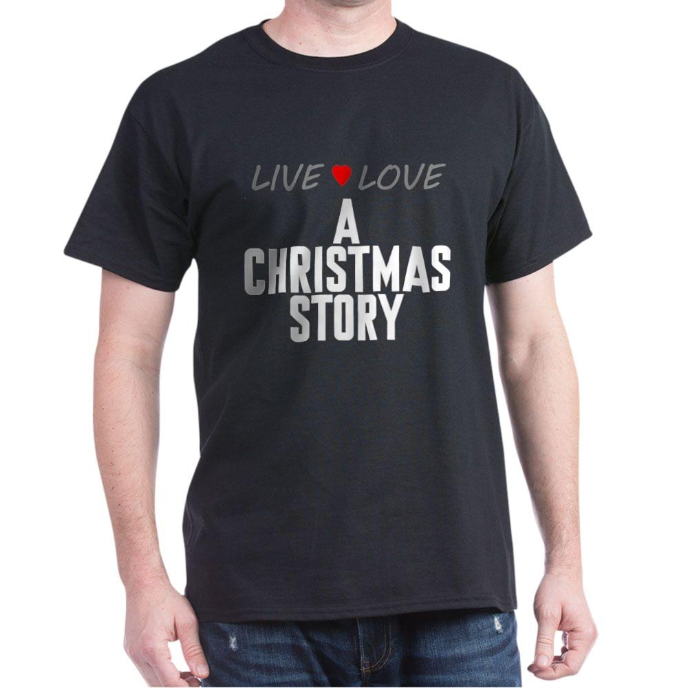 Live Love A Christmas Story Dark T-Shirt