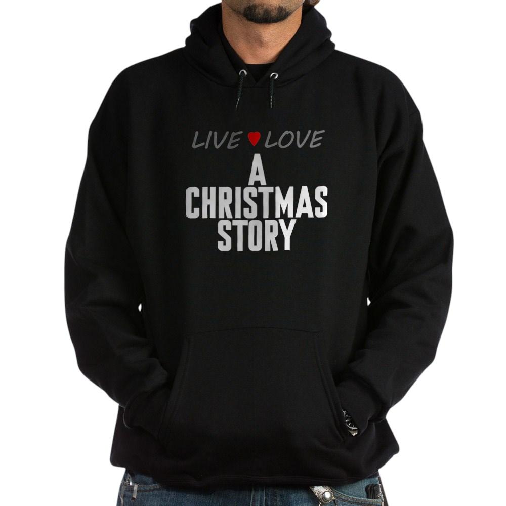 Live Love A Christmas Story Dark Hoodie