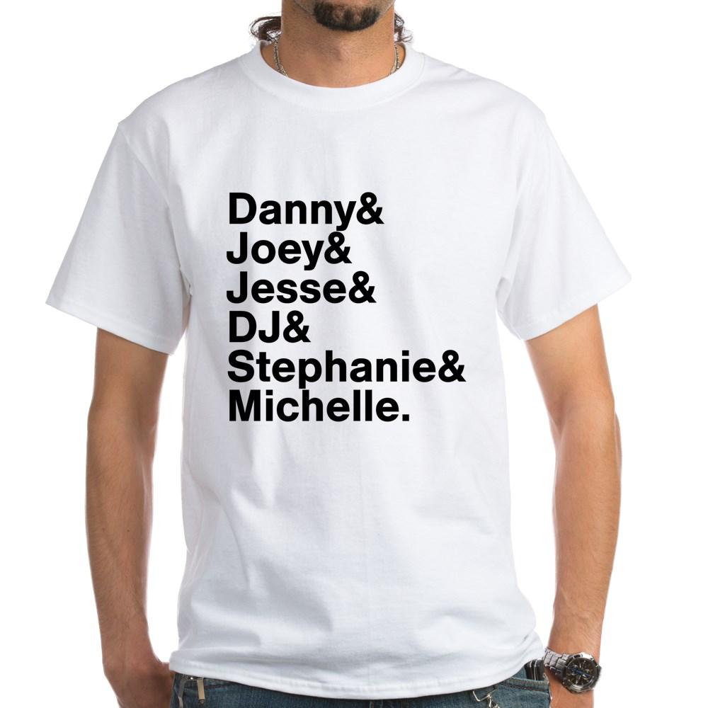 Full House Character List White T-Shirt