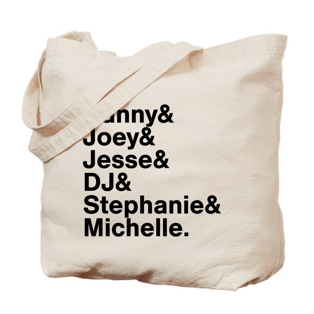 Full House Character List Tote Bag